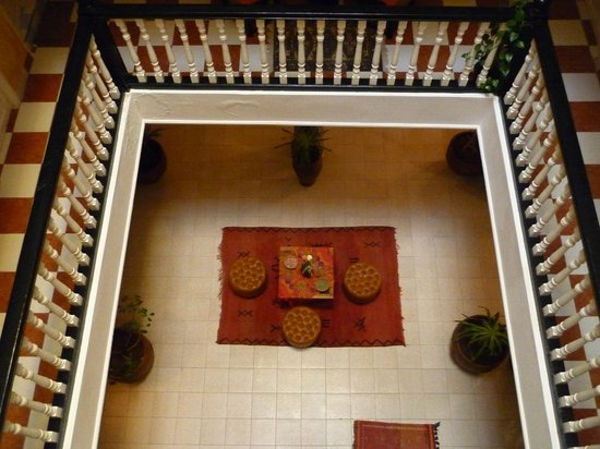 Hotel Cap Sim: View from second floor