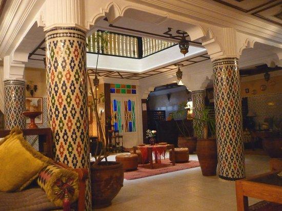 Hotel Cap Sim: Main lounge
