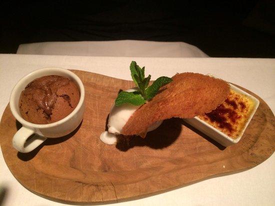 Oysters Restaurant : Dessert