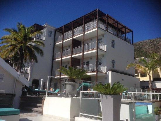 Glen Boutique Hotel & Spa: Partie moderne