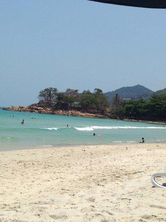 Samui Resotel Beach Resort : Plage du resotel samui