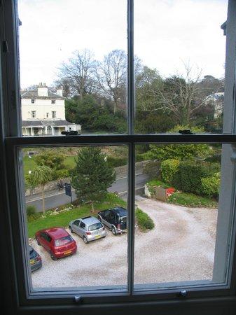Haytor Hotel: View from top front window