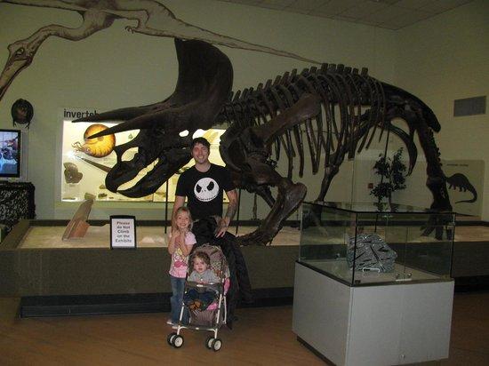 Greensboro Science Center : Dinosaur exhibit