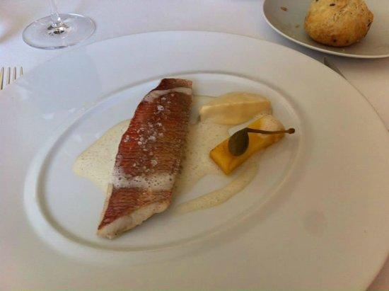 Domaine du Colombier Restaurant : poisson