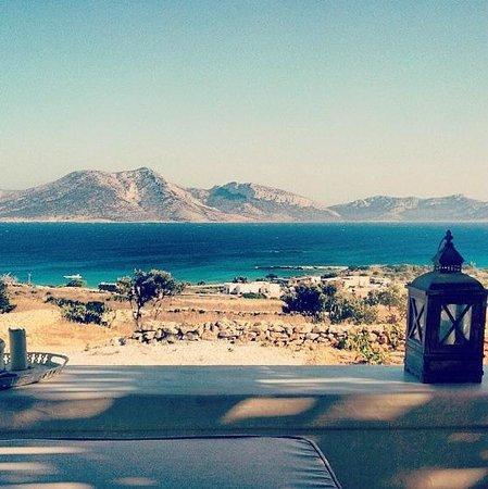 Pambelos Lodge: Vista dalla veranda dell'appartamento