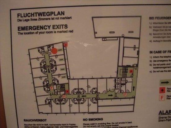 IntercityHotel Vienna: フロアマップ