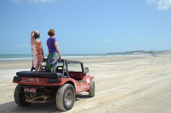 Pousada Atlantis: Экскурсия на багги по дюнам
