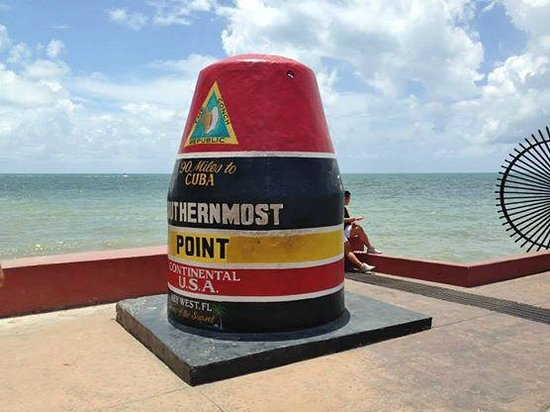 Southernmost Point : La boa