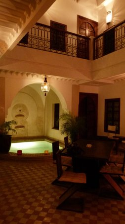 Riad 107: Patio
