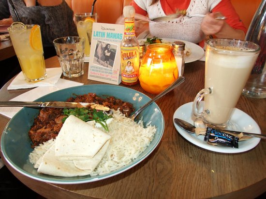Las Iguanas - Exeter: Chilly con carne