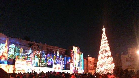 Universal Studios Japan: 光のツリー