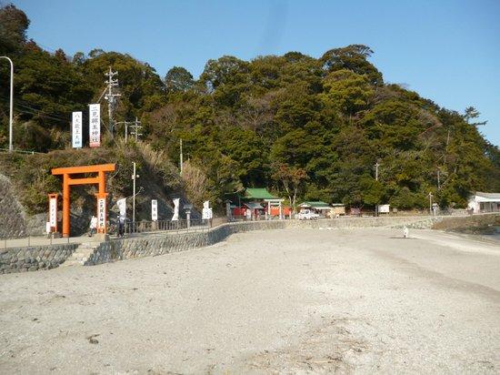 Futami Okitama Shrine : 二見の参道