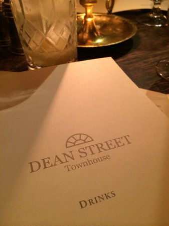 Dean Street Townhouse Hotel & Dining Room : atmosphere