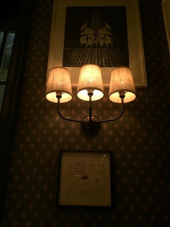 Dean Street Townhouse Hotel & Dining Room : decor