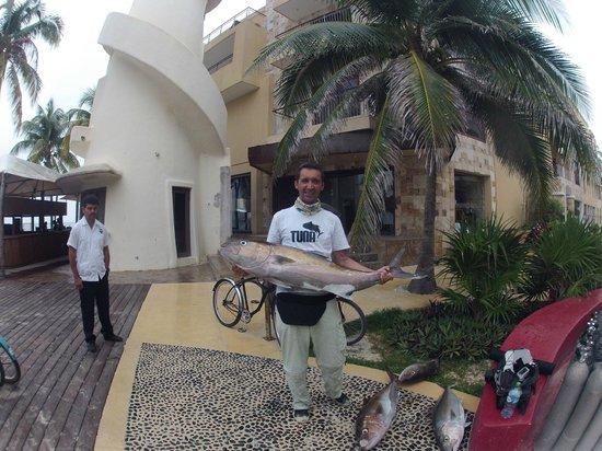 Fishing with Roberto Navarro : sortie jigging serioles du 13 mars 2014
