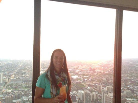 Centro / Observatorio  John Hancock: Como não amar Chicago !!!!