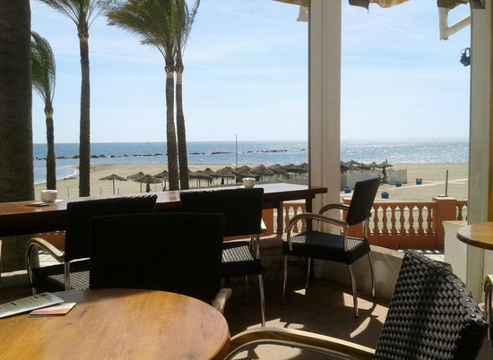 Palm 5 Beach Bar: View from Palm 5