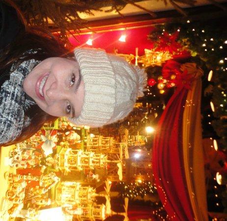 Altstadt: Rothenburg- Noite de Natal o ano inteiro