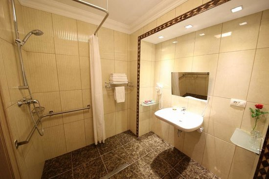Swiss Hotel: シャワールーム