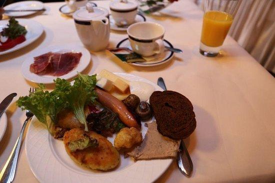 Swiss Hotel: ビュッフェ朝食