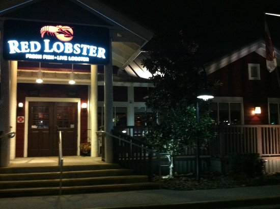 Red Lobster : Entrada do restaurante