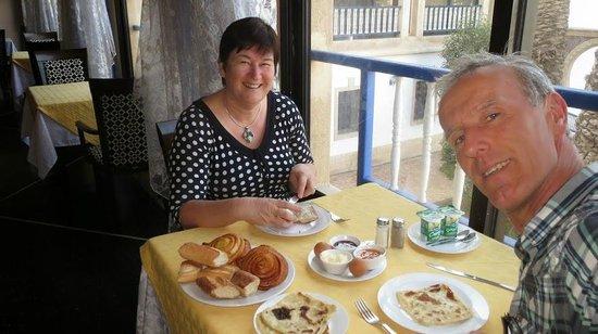 Hotel des Iles: Heerlijk ontbijt