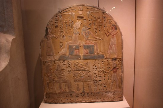 Musée égyptologique de Turin : Tomb of Ka exhibit.
