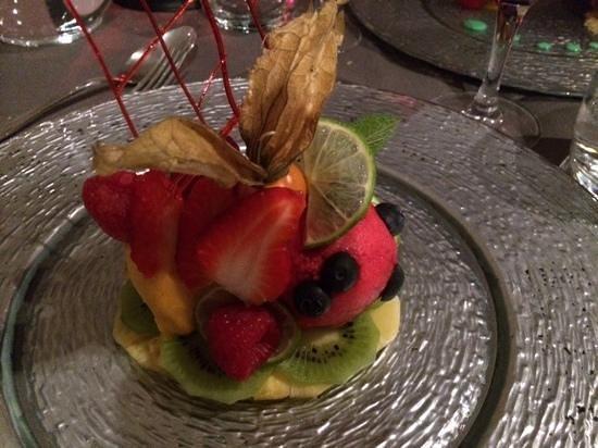 Le Caveau des Lys: meli melo sorbets/fruits