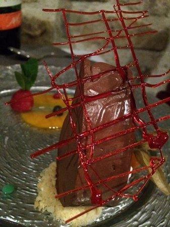 Le Caveau des Lys: marquise au chocolat