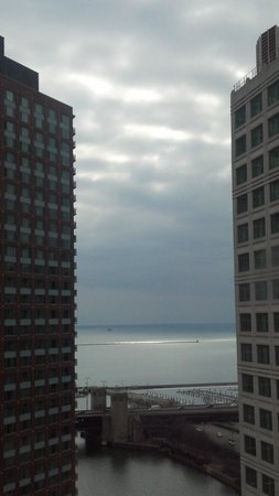 Sheraton Grand Chicago: View from our room on 24th floor