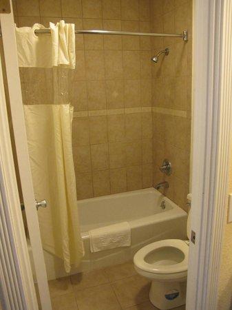 Rodeway Inn & Suites: la baignoire