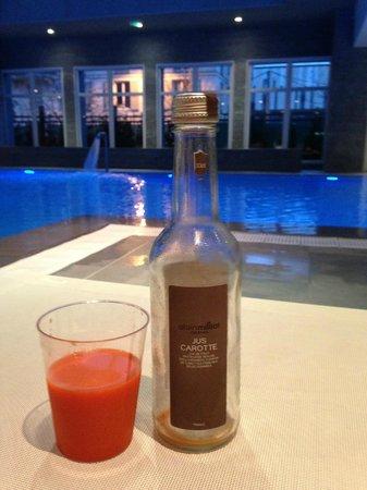 Relais Spa Val d'Europe : servizio bar in spa