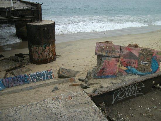 Muelle Vergara : Beginning of pier