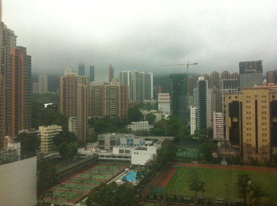 Metropark Hotel Causeway Bay Hong Kong: View from the 12th floor
