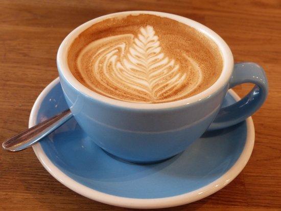 Fitzbillies: Artistic latte