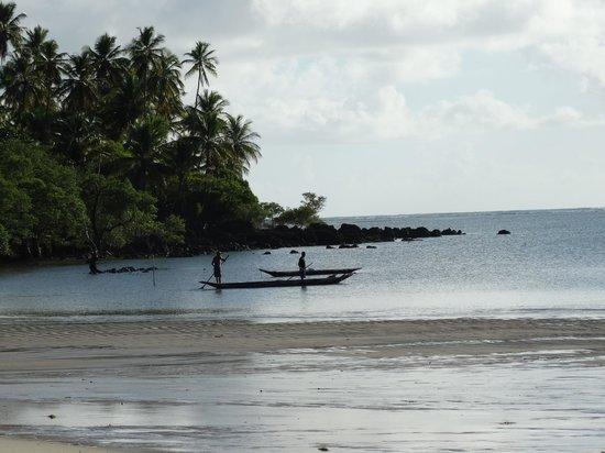 Pousada dos Ventos : Vista da praia