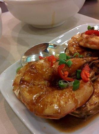 Amy Heritage Nyonya Cuisine : Udang Goreng Assam