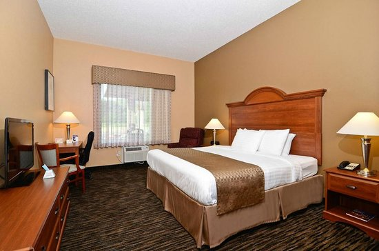 Best Western The Inn At The Fairgrounds: 1 King Bed