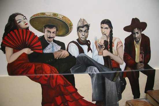 Mansion del Valle: Fresco