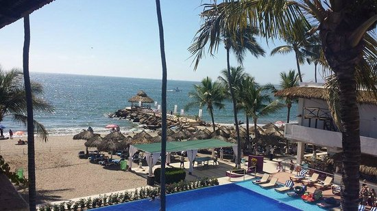 Crown Paradise Club Puerto Vallarta: view from balcony