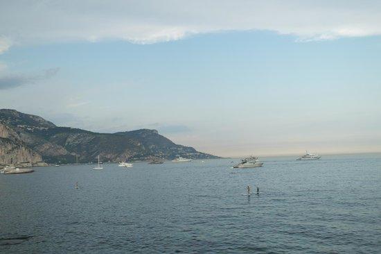 Villa Kérylos : Вид на море