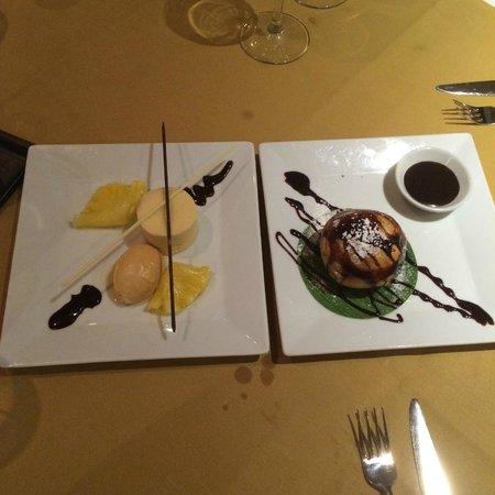 Nipa Thai: Caramel Lychee & Ice Cream Tod