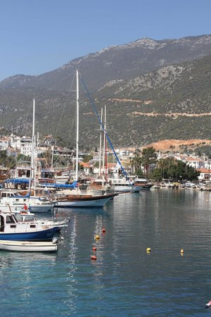 Zeytin Restaurant: Hafen von Kas