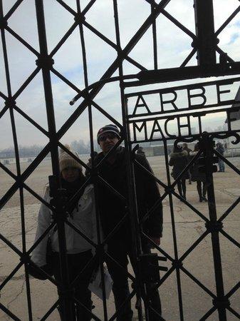 KZ-Gedenkstätte Dachau: Entrada do Campo de Concentracao