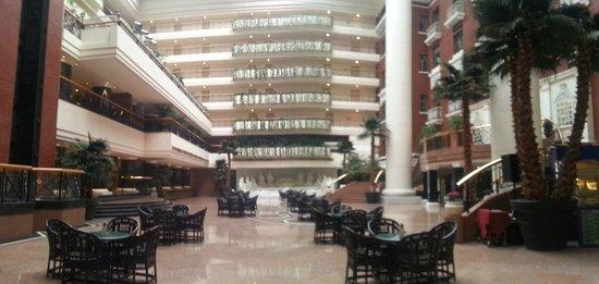 Grand Hotel Beijing: inside the hotel