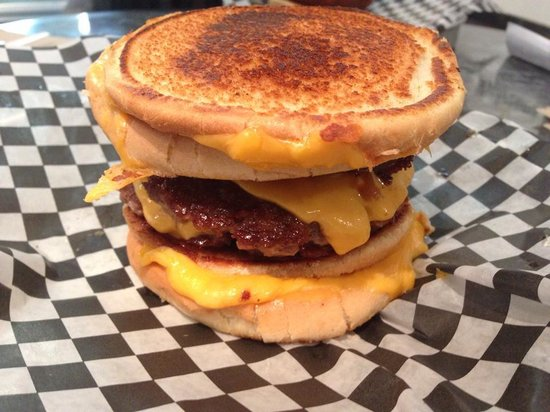 Holy Chuck Burgers: THE COWLORIE
