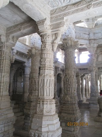 Ranakpur, India: Inside the Jain Temple