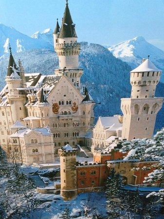 Euro Park Hotel: Castelo de Neuschwanstein- Conto de Fadas