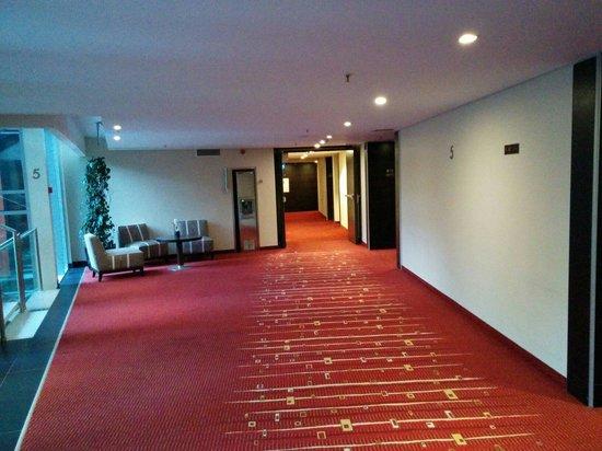 Radisson Blu Elizabete Hotel : Corridoi hotel