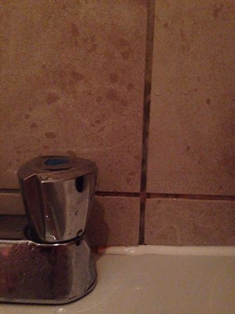 Mercure Chester Abbots Well Hotel: Tiles and grout need a clean